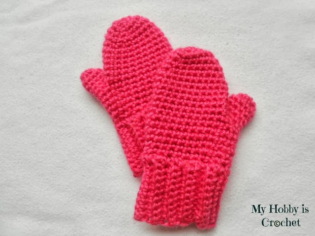My Hobby Is Crochet: Crochet Toddler Mittens Ceyla - Free ...