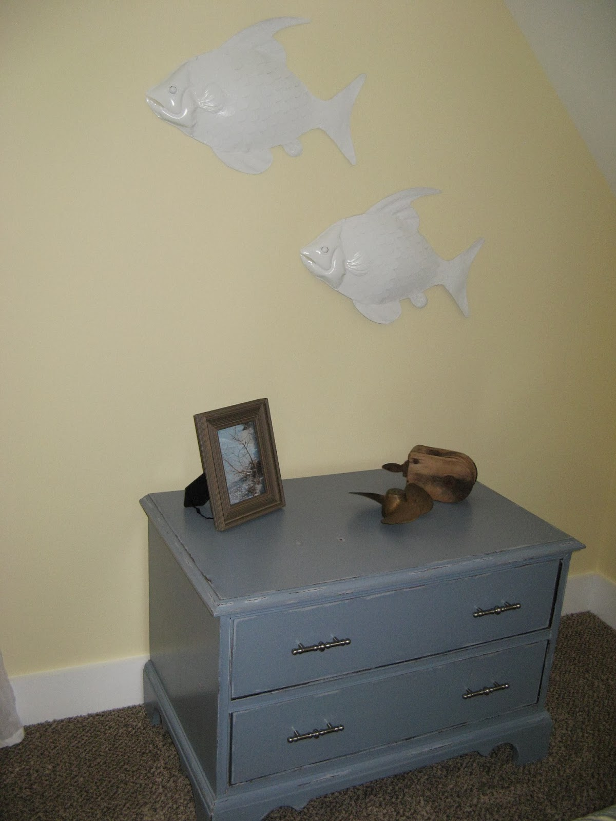 Chest of drawers - Candlewax and Vaseline Paint Distressed