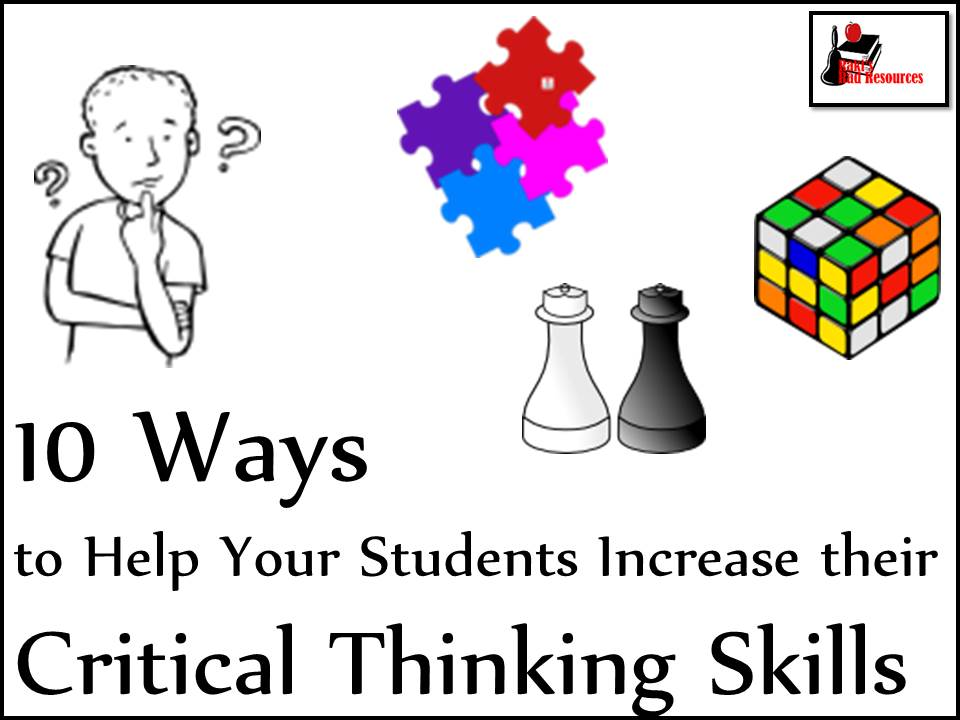 activities for critical thinking skills