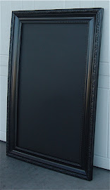 Glossy Chalkboard (SOLD)