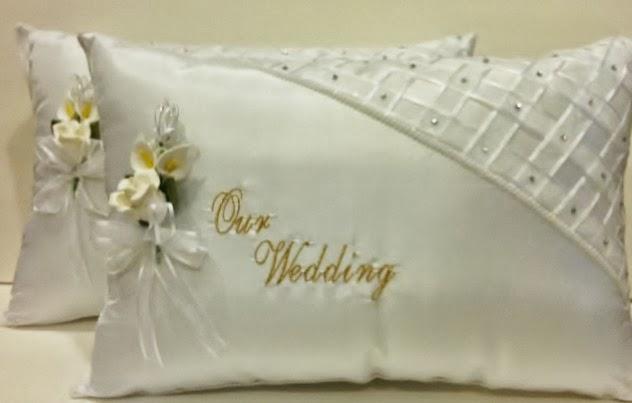 detalles todo party  wedding kneeling pillows    cojines