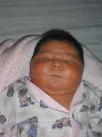 Nasce um bebê enorme em Garanhuns