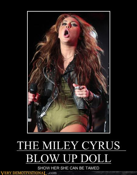 Demotivational miley cyrus