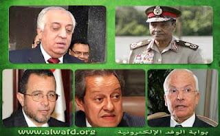 ننشر المسودة المبدئية لحكومة مرسى