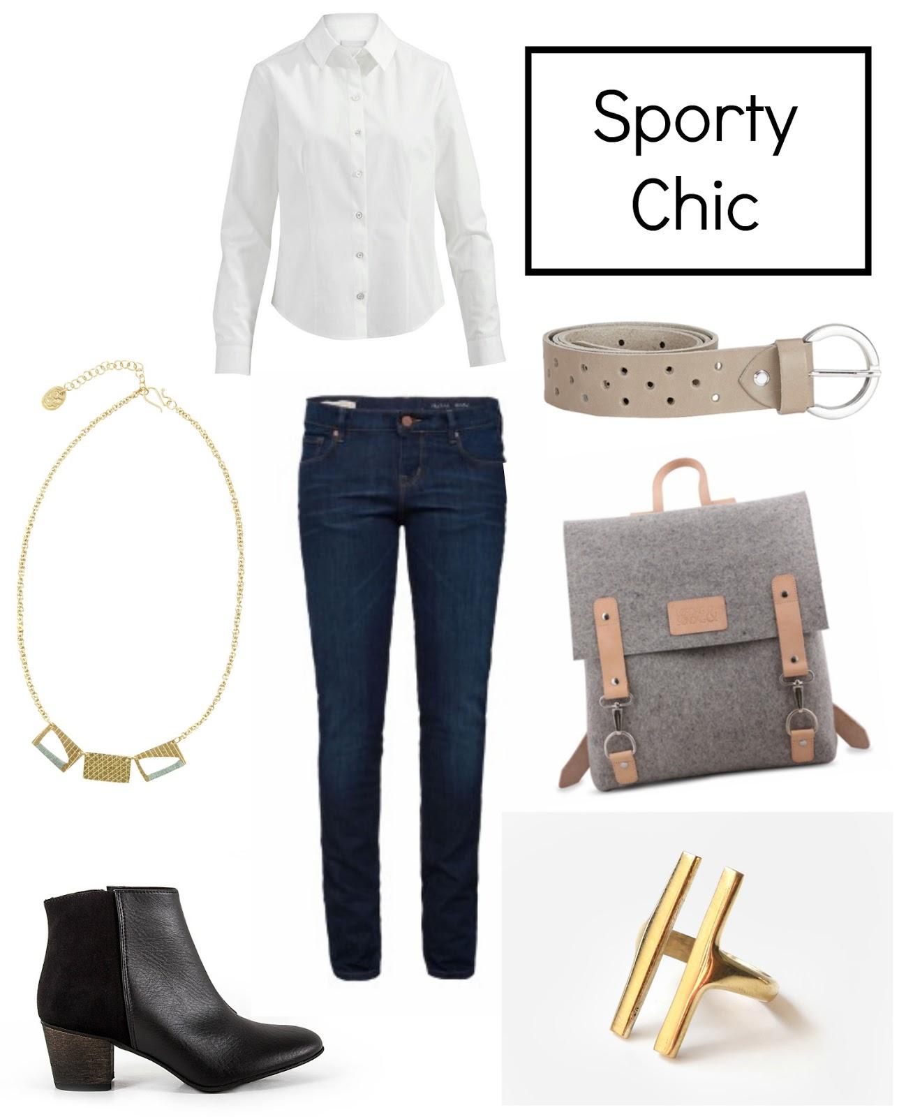 Beispiel Minimalistische Garderobe
