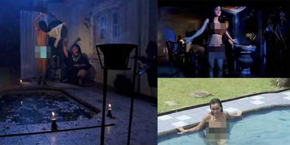 Download image Foto Adegan Syur Julia Perez Film Rumah Bekas Kuburan ...