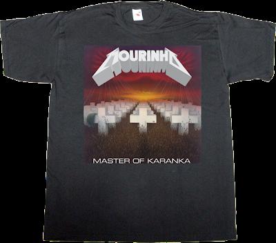José Mourinho karanka real madrid metallica trash metal t-shirt ephemeral-t-shirts
