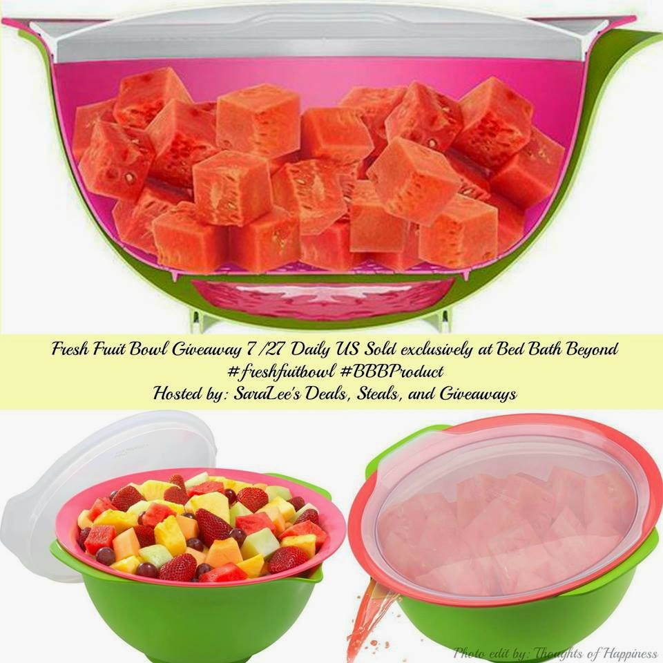 Enter the Fresh Fruit Bowl Giveaway. Ends 7/27.