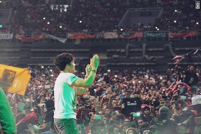 Lebih dari 25000 penonton meriahkan Konser Noah di Taiwan