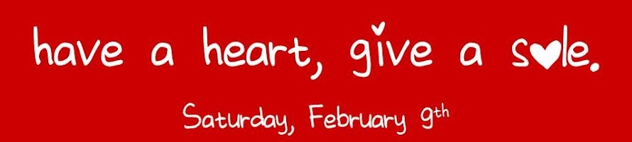 Have a Heart, Give a Sole. February 9, 2013