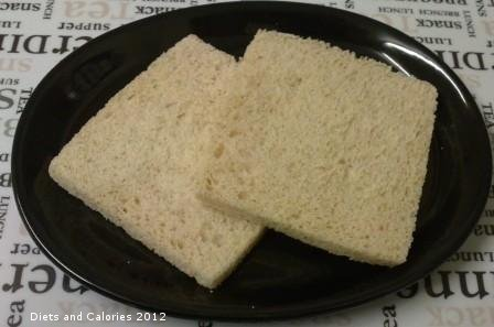 Diets and Calories: Crustless White Bread with Wholemeal - M&S