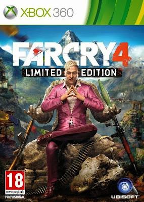 Far Cry 4 Torrent XBOX 360 2014 DUBLADO PT-BR