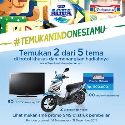 Info Promo - Promo Aqua Indomaret Temukan Indonesiamu