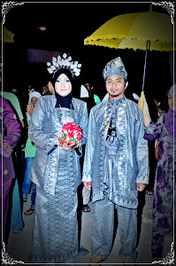 persalinan songket silver hitam