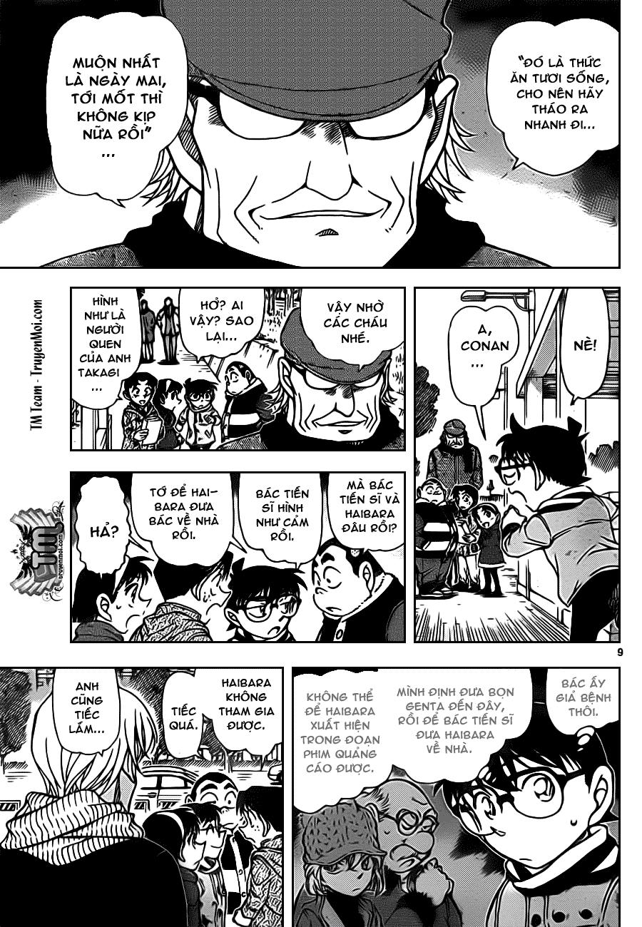 Thám Tử Lừng Danh Conan - Chapter 804 - Pic 10