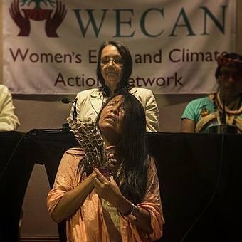 Eda Zavala of Tarapoto, Peru. Photo via Amazon Watch.
