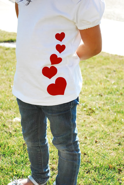 Heart Applique Shirt