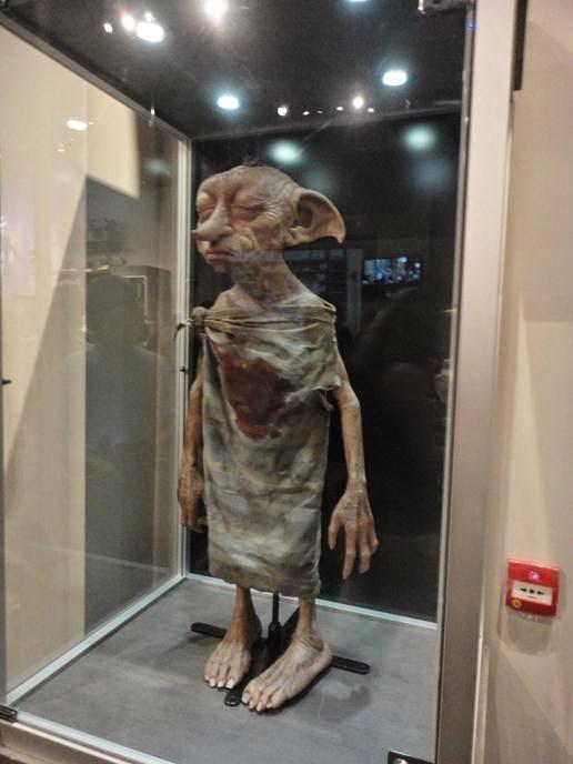 Dobby - Visitando os Estúdios de Harry Potter em Londres