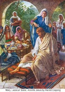 วันจันทร์ สัปดาห์ศักดิ์สิทธิ์: การชโลมพระบาทที่เบธานี