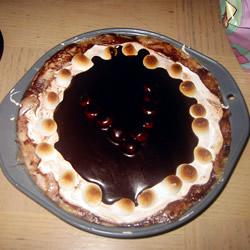 Caramel Gâteau au chocolat