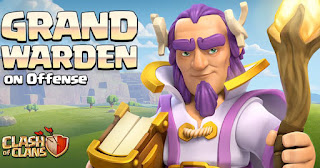 Update Terbaru COC TH 11 Grand Warden Hero Baru Rilis cover