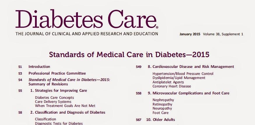 RedgedapS: Los Standards of Medical Care in Diabetes de 2015