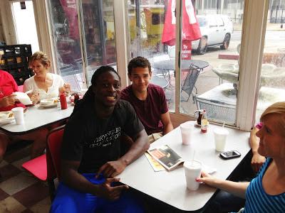 FR RB Altee Tenpenny & 2014 WR Derek Kief