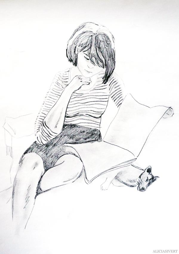 aliciasivert, alicia sivert, alicia sivertsson, teckna, måla, skapa, alster, konst, öva, utmaning, teckningsutmaning, makeri, bläck, ink, rita, sketch, drawing, draw, illustration, illustrera, anna