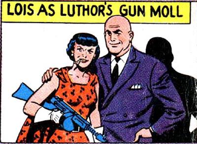 Lois Lane gun moll