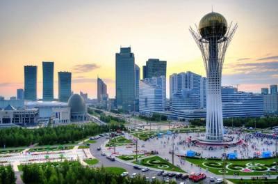 Astana,la capitale du Kazakhstan