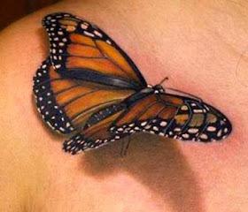 tatuagens de borboletas fotos e imagens ideias e dicas. Black Bedroom Furniture Sets. Home Design Ideas
