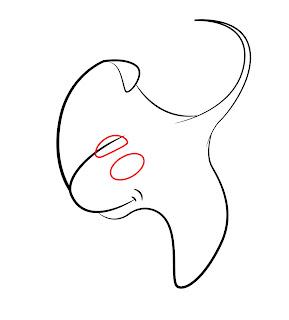 How To Draw A Cartoon Stingray Step 4