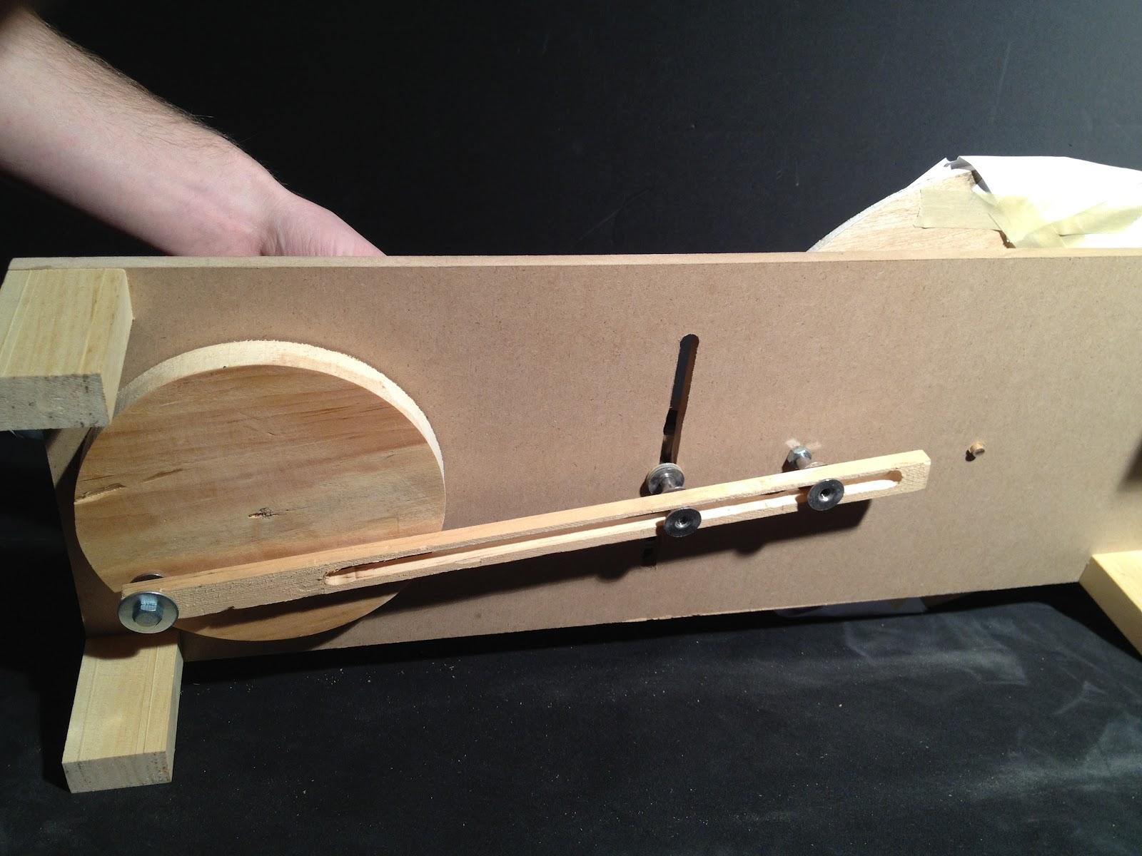 wooden machine