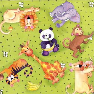 animales salvajes infantiles