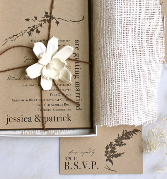 by tamara nicole seattle weddings rustic etsy wedding invitations