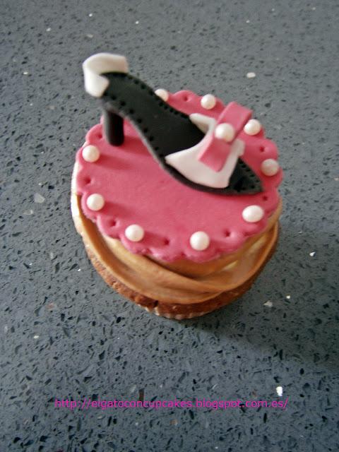 cupcake zapato