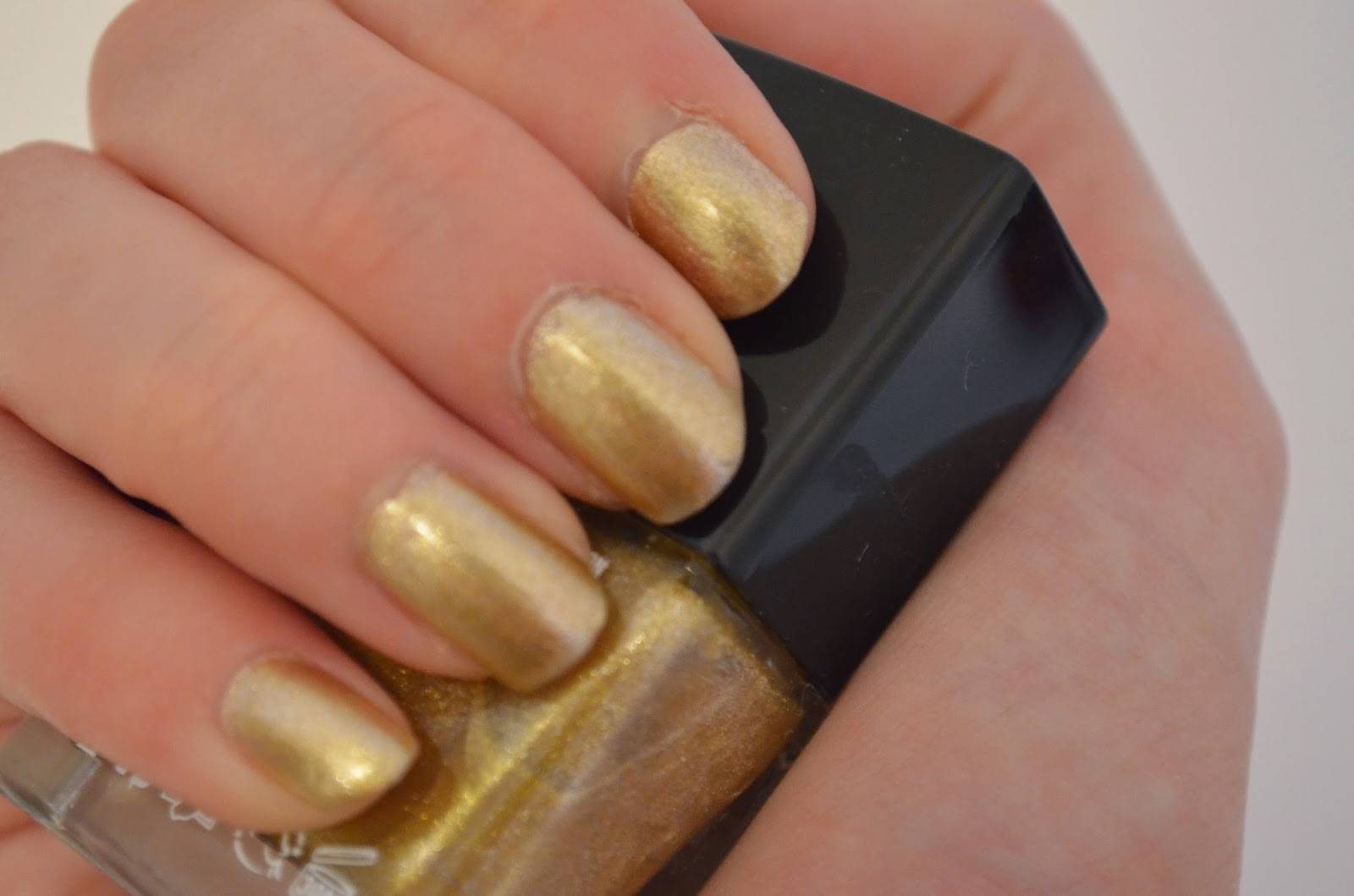 The Full MOnty Gold Nailpolish from Butter London