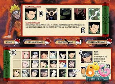 Naruto arena online