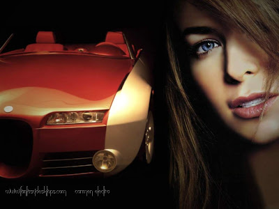 Sexy Girls and Stunning Cars Wallpapers Part XI 04