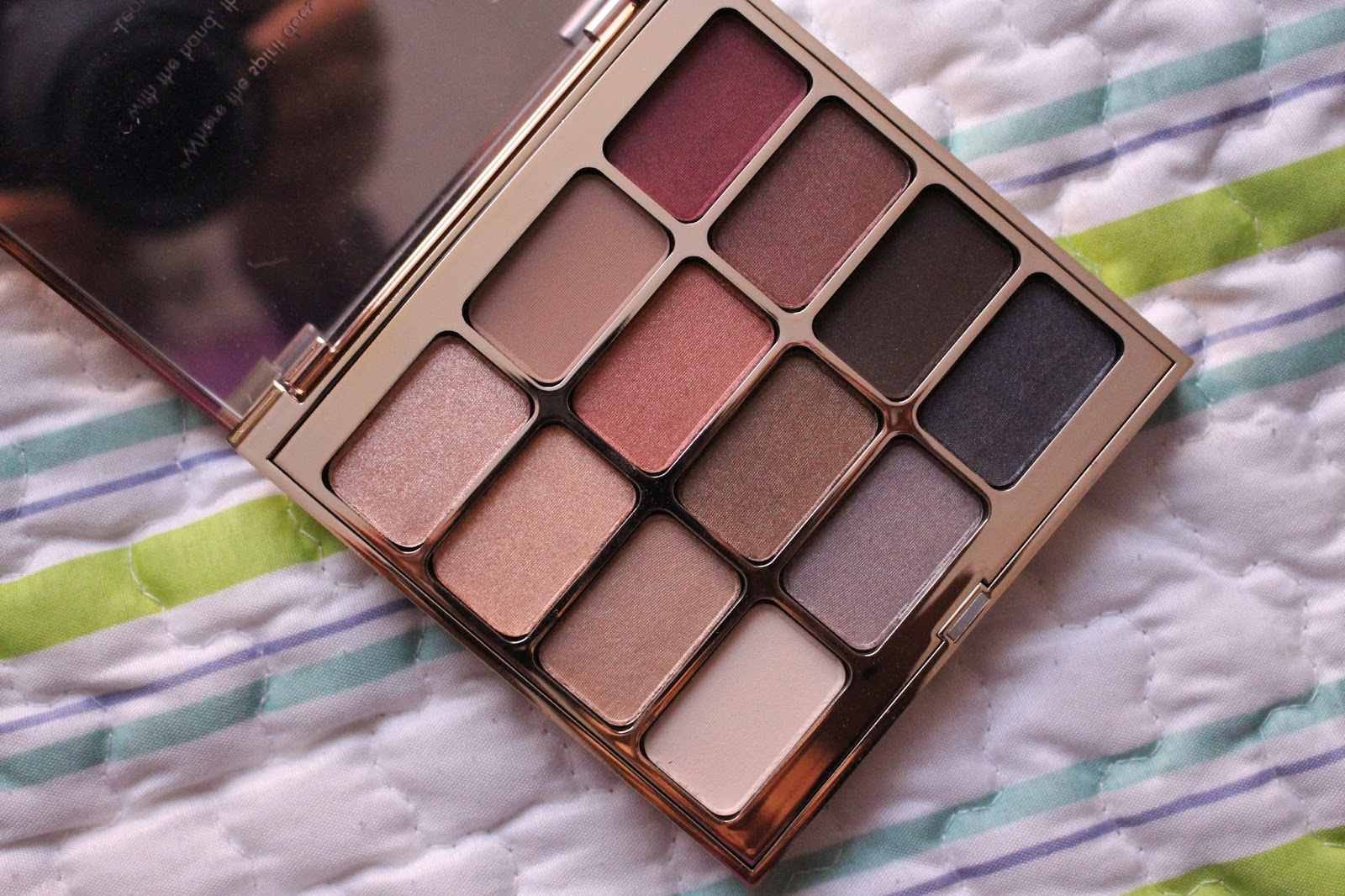 Stila Eyes are the window palette,