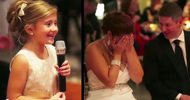 الفيديو: طفلة تبهر العالم في حفل زفاف! شاهد ما الذي فعلته؟