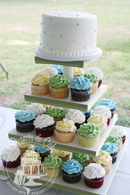 pastel wedding cupcakes
