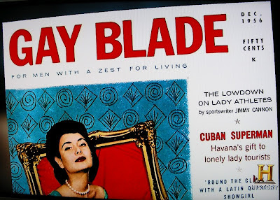 Gay Blade magazine for straight men in 1956 competed with Playboy
