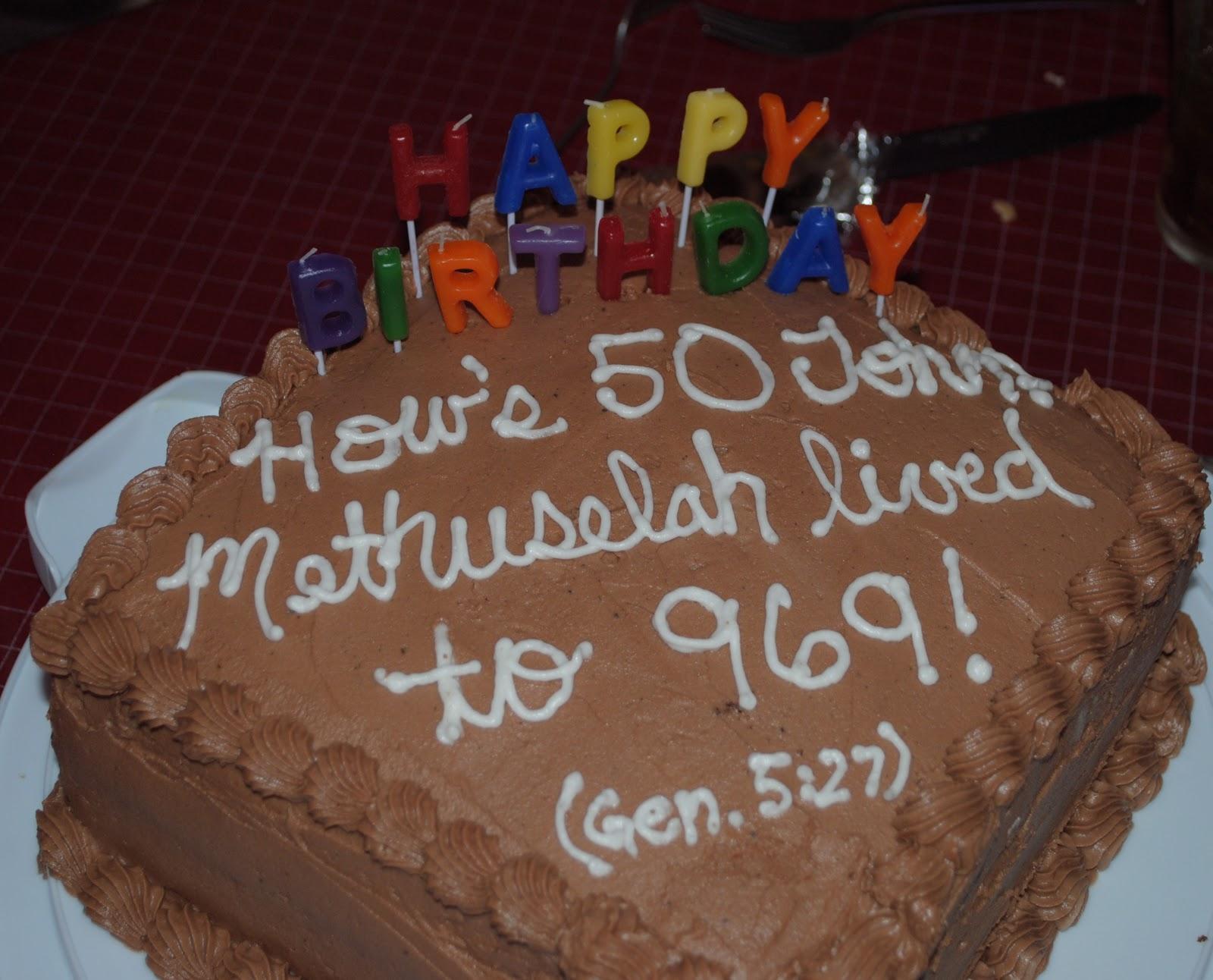 The Kroh s Nest 50th birthday cake