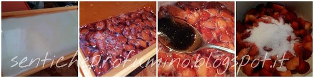 Panna cotta con gelatina di fragole al mosto cotto