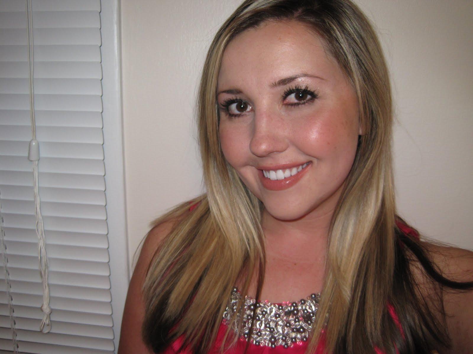 changed my hair dark blonde whitney ports blonde hair