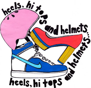 heels hi tops and helmets heels hi tops and helmets,jude bronson,caroline dulko