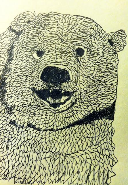happy bear by shoshanah marohn 2016