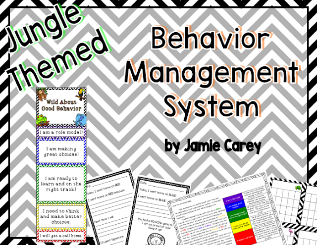 https://www.teacherspayteachers.com/Product/Jungle-Themed-Behavior-Management-System-1908475