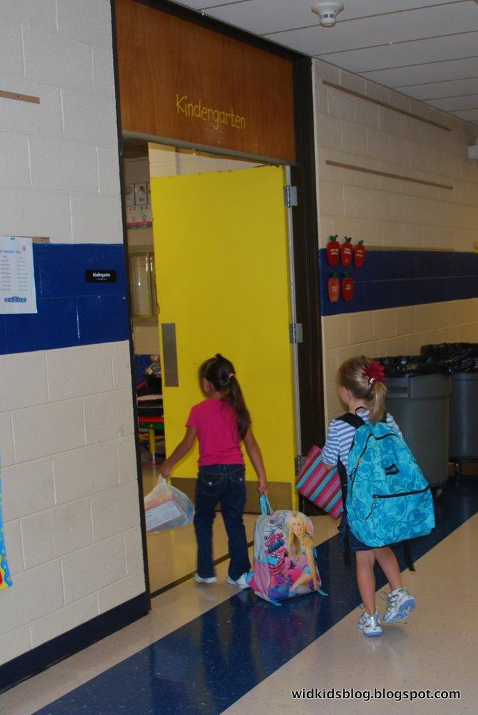 Walking Into Classroom